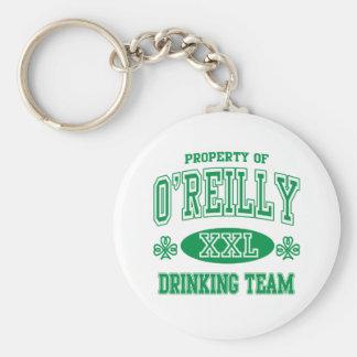 Equipo de consumición del irlandés de O'Reilly Llavero Personalizado