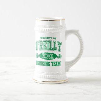 Equipo de consumición del irlandés de O'Reilly Jarra De Cerveza