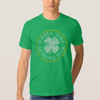 Equipo de consumición del irlandés de O'Shea Playera