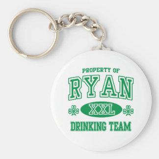 Equipo de consumición del irlandés de Ryan Llavero Personalizado