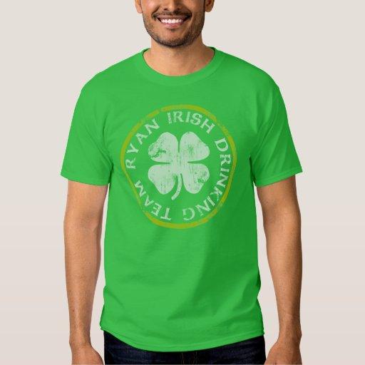 Equipo de consumición del irlandés de Ryan Remeras