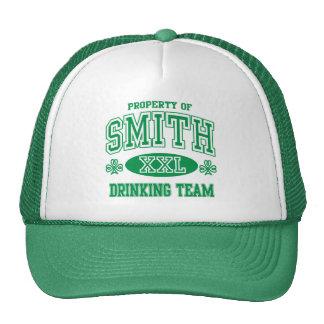Equipo de consumición del irlandés de Smith Gorro