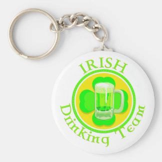 Equipo de consumición del irlandés del KRW Llavero Personalizado