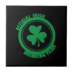 Equipo de consumición del irlandés oficial tejas  cerámicas