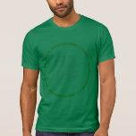 Equipo de consumición del italiano irlandés tshirt