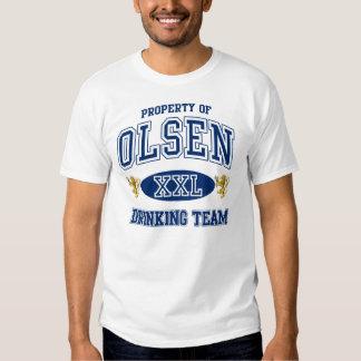 Equipo de consumición del noruego de Olsen Playera