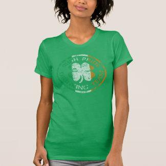 Equipo de consumición del orgullo irlandés oficial camiseta