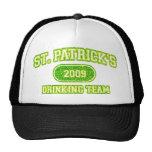 Equipo de consumición del St Patricks Gorras De Camionero