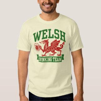 Equipo de consumición Galés Camisas