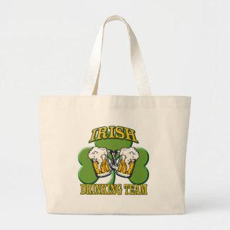Equipo de consumición irlandés bolsa tela grande