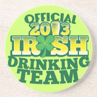 EQUIPO DE CONSUMICIÓN irlandés del funcionario 201 Posavasos Cerveza