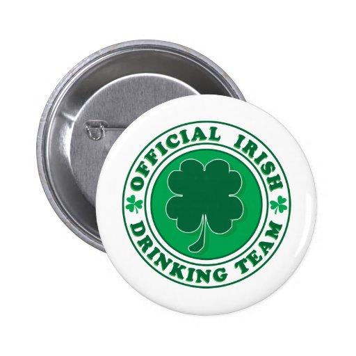 Equipo de consumición irlandés/el día de St Patric Pin