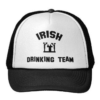 Equipo de consumición irlandés gorras