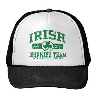 Equipo de consumición irlandés gorro de camionero
