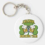 Equipo de consumición irlandés llavero personalizado