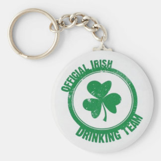Equipo de consumición irlandés llaveros personalizados