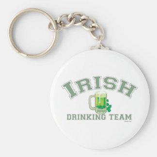 Equipo de consumición irlandés llavero