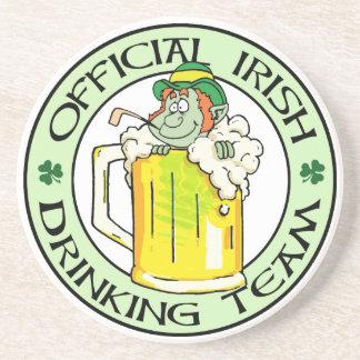 Equipo de consumición irlandés posavasos manualidades