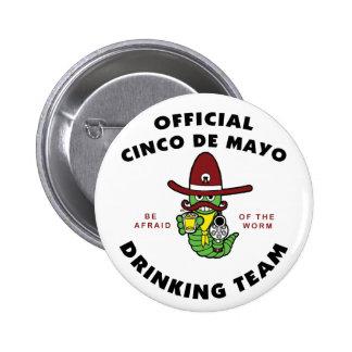 Equipo de consumición oficial de Cinco de Mayo Pin