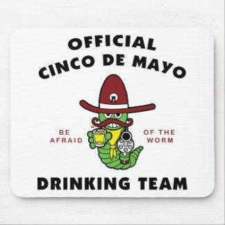 Equipo de consumición oficial de Cinco de Mayo Tapete De Ratón