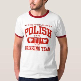 equipo de consumición polaco playeras