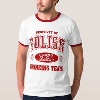 Equipo de consumición polaco remera