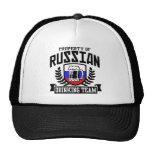 Equipo de consumición ruso gorras de camionero