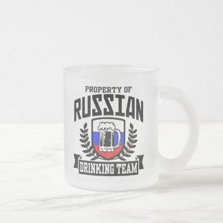 Equipo de consumición ruso taza de café