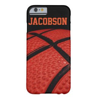 Equipo de deportes del primer del baloncesto funda de iPhone 6 barely there