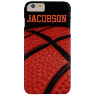 Equipo de deportes del primer del baloncesto funda de iPhone 6 plus barely there