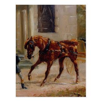 Equipo de Enrique de Toulouse-Lautrec en Bosc Tarjetas Postales