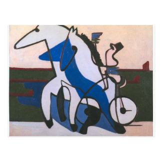 Equipo de Ernst Luis Kirchner- Traber Tarjeta Postal