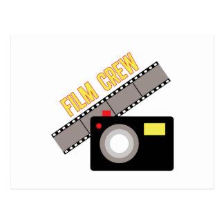 Equipo de filmación postal