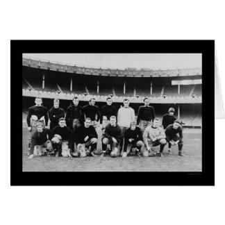 Equipo de fútbol 1915 de All Star Tarjeta De Felicitación