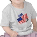 Equipo de fútbol americano camiseta