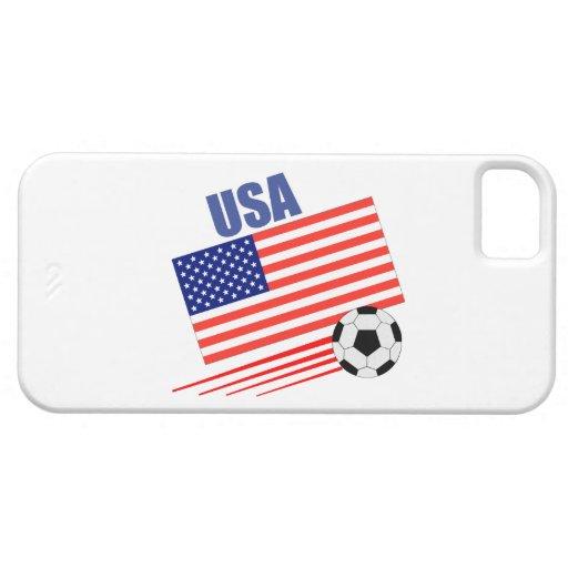 Equipo de fútbol americano iPhone 5 carcasas