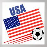 Equipo de fútbol americano poster