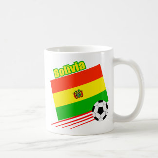 Equipo de fútbol boliviano taza de café