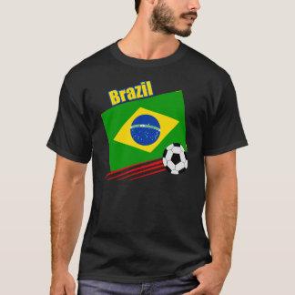 Equipo de fútbol brasileño playera