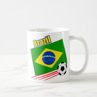 Equipo de fútbol brasileño taza