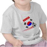 Equipo de fútbol coreano camiseta