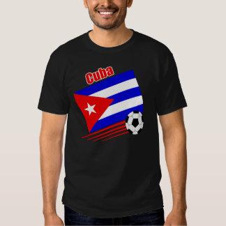 Equipo de fútbol cubano remera