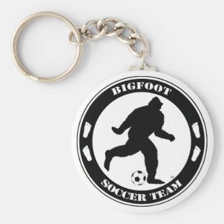 Equipo de fútbol de Bigfoot Llavero