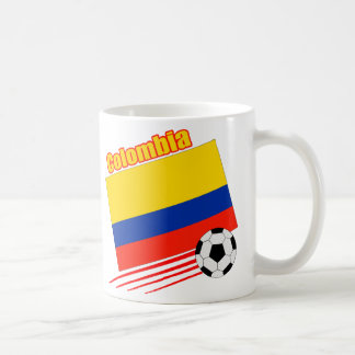 Equipo de fútbol de Colombia Taza De Café