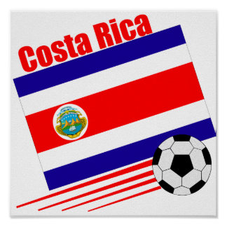 Equipo de fútbol de Costa Rica Poster