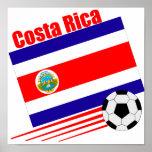 Equipo de fútbol de Costa Rica Póster