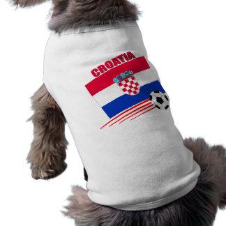 Equipo de fútbol de Croacia Camisetas De Perro