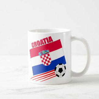 Equipo de fútbol de Croacia Taza De Café