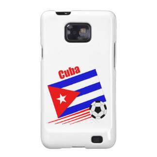 Equipo de fútbol de Cuba Galaxy SII Funda