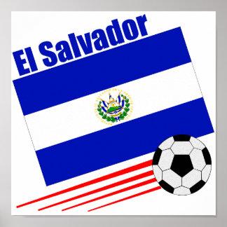 Equipo de fútbol de El Salvador Póster